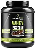 Whey Protein Pulver - Eiweißpulver für Proteinshakes, Kraftsport und Fitness - WPC Whey Konzentrat cross flow mikrofiltriert CFM - Schoko 1000g