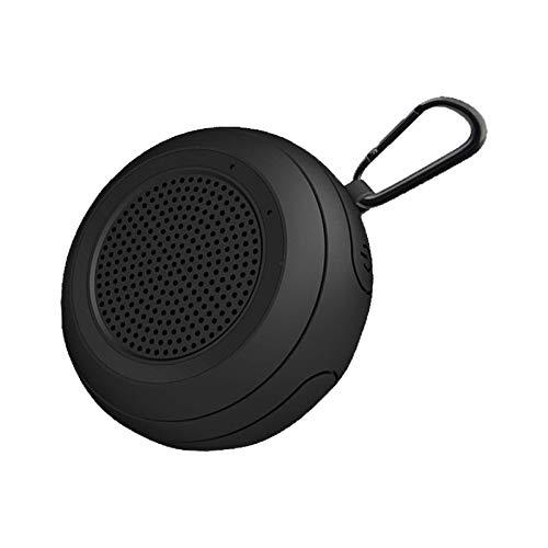 Altavoz portátil Bluetooth, IPX7 Ducha al aire libre a prueba de agua Altavoces de audio con estéreo, tiempo de juego de 6 horas, Bulit-in MIC, Mosquetón, Mosquetón, Para Deporte, Senderismo, Camping,