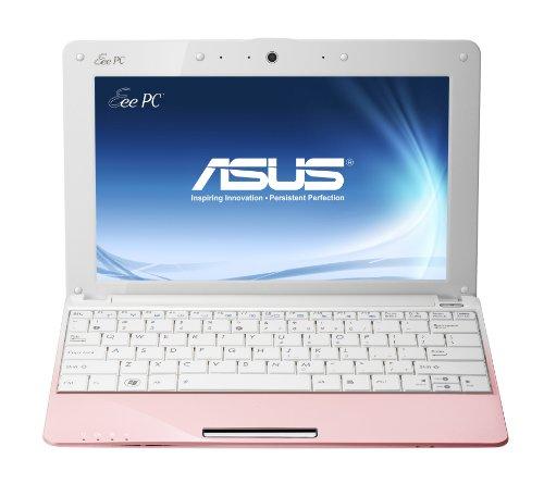 Asus EeePC R105D 25,7 cm (10,1 Zoll) Netbook (Intel Atom N455, 1,6GHz, 1GB RAM, 250GB HDD, Intel 3150, Win 7 Starter) pink