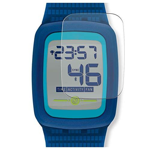 Vaxson 4 Unidades Protector de Pantalla, compatible con Swatch Touch Zero Two SVQB100 [No Vidrio Templado] TPU Película Protectora