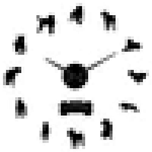 Reloj de Pared Cane Corso Italiano Perro Raza de Mastín Diseño Moderno 3D DIY Etiqueta de la Pared Reloj Perro de Caza DIY Reloj de Pared Grande Decoración del hogar
