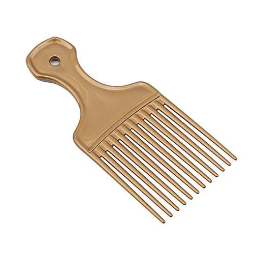 Godong Peine para el cabello diapositivas cabezal de aceite peine de tinte para el cabello, peine de dientes anchos, herramienta de belleza