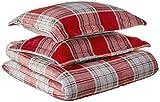 Fraiche Maison Allen Plaid Velvet Plush Comforter Sets, Full/Queen
