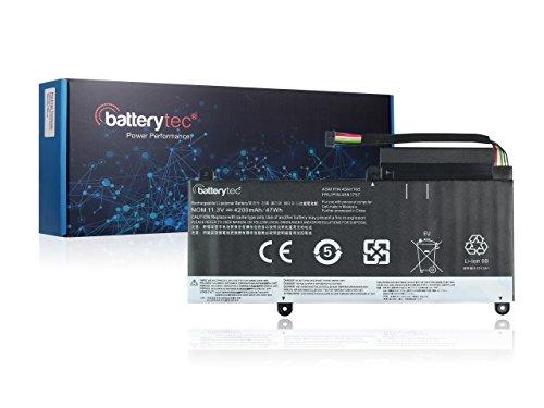 Batterytec Battery for LENOVO ThinkPad E450 E460 E460C E465 E470 E470C E475 Series, LENOVO ThinkPad Edge E460 E470 Series, 45N1754 45N1755 45N1756 45N1757.[11.3V 4200mAh, 12 Months Warranty]