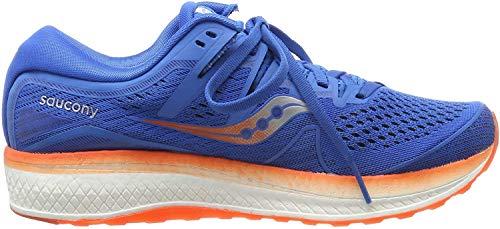 Saucony Triumph ISO 5, Zapatillas de Running para Hombre, Azul (Blue/Orange 36), 44 EU