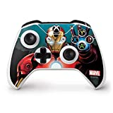 Skinit Decal Gaming Skin Compatible with Xbox One S Controller - Officially Licensed Marvel/Disney Ironman Design