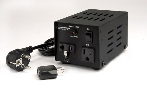 VCT VT-100 Continuous Use 100 Watt Voltage Transformer ~ This 110V - 220V / 240V Voltage Converter is for Worldwide Use