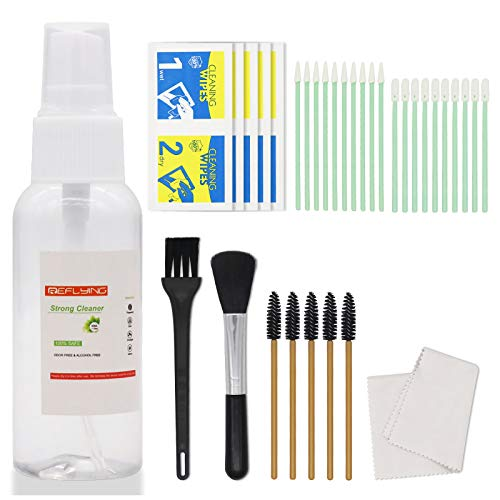34PC Cleaning Kit Compatible with AirPods Pro/AirPods 2/AirPods 1, Professional Screen Cleaner Kit with Cleaning Swabs for Smartphones, Cameras, Keyboards, Headphones and Tablets