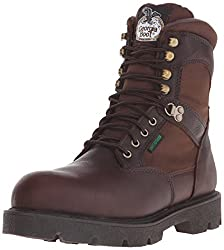 Georgia Boot Men's Homeland 8 Inch Steel Toe Work Shoe