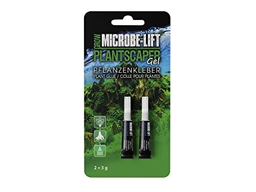 MICROBE-LIFT Plantscaper Gel - Colle pour Plantes pour Les mousses et Plantes dans Tous Les Aquariums d'eau Douce, Colle instantanée, Colle pour Aquarium, aquascaping, très économique,