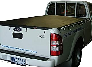 Ford Ranger XL Single Cab 2007 to October 2011 Suits Headboard & Without Sports Bar Bunji Tonneau Cover.