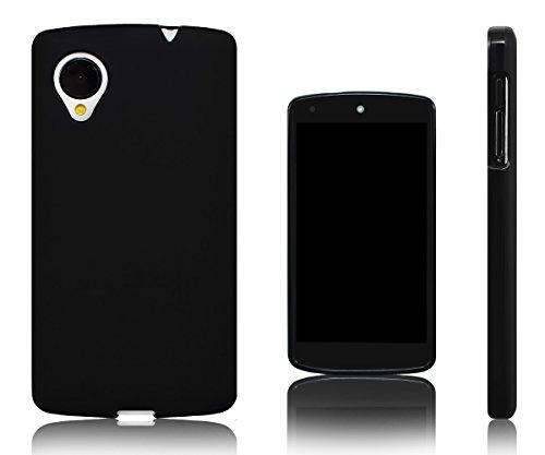 Xcessor Vapour Custodia di TPU Gel Flessibile per LG Nexus 5. Nero