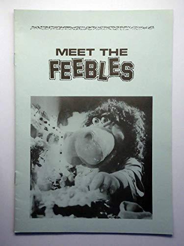 Meet The Feebles - Peter Jackson - Mark Hadlow - Brian Sergent - Presseheft