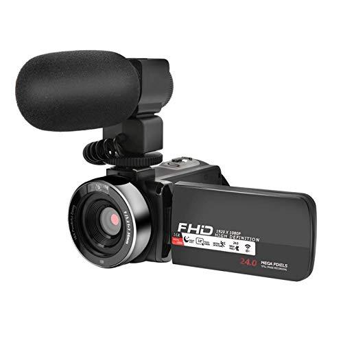 Mothinessto Cámara Digital 16 Pantalla táctil con Zoom Digital Portátil, LED Dual(Standard + Microphone)