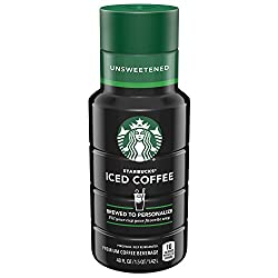 Starbucks Unsweetened Iced Coffee, 48 Fl Oz (Pack of 1)