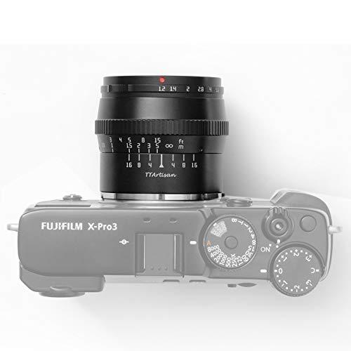 TTartisan 50 mm F1.2 APS-C Kameras Objektiv für FujiFilm X