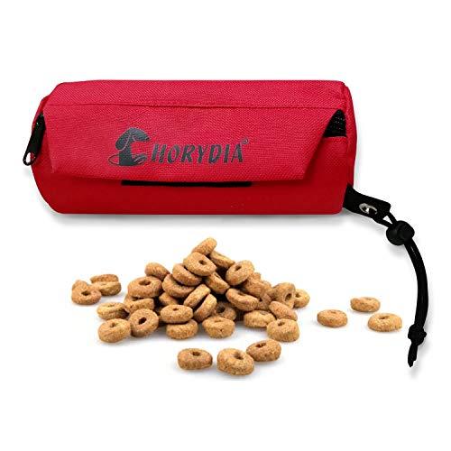 HORYDIA Sacchetto per Alimenti Cani Borsa da Snack per Cani Borsa Addestramento Cani Dummy da Allenamento Portatile Sacchetto di Cibo per Cani.