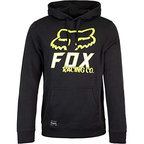 Fox Hightail - Sudadera con capucha para hombre Negro M