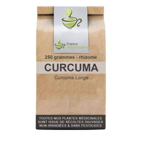 Tisane Curcuma rhizome 250 GRS Curcuma longa.