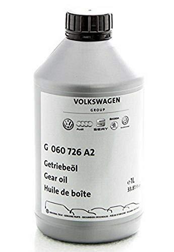Aceite de transmision Original Audi Volkswagen para cambio de marchas manual, valvulina.75W-, 1 Litro