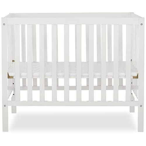 Dream On Me, Edgewood 4-in-1 Convertible Mini Crib, White