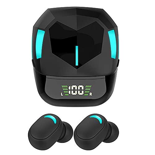 Auriculares Bluetooth Inalambricos Potente Deportivo Sonido HD Gaming Gamer Caja de Carga