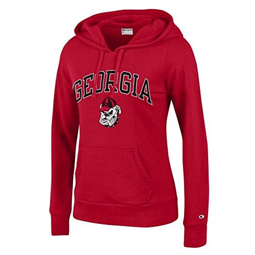 georgia bulldog hoodie for women - 3