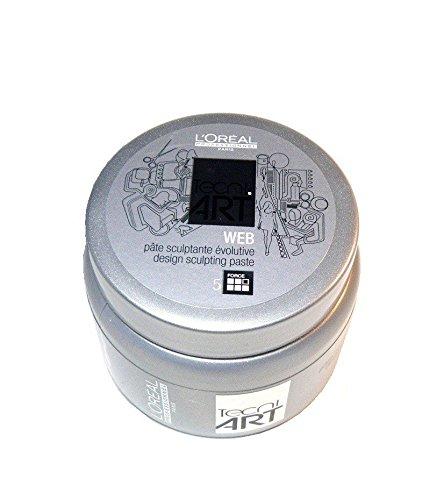 L'Oréal Fix Web Paste 1 x Tecni. art 150 ml pour Coiffage Tenue ultra forte