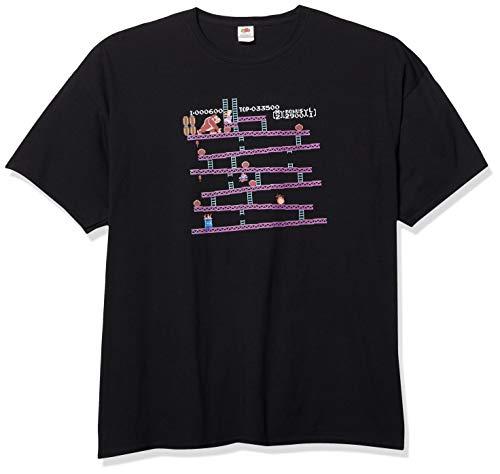 Nintendo - Camiseta original de Donkey Kong para hombre -  Negro -  3X-Large