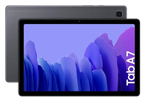 SAMSUNG Galaxy Tab A7 Wifi - Tablet 32GB, 3GB RAM, Dark Gray [Versione Tedesca]