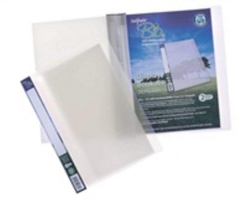 Snopake Bio2 Sichtbuch A4 20 Hüllen biologisch abbaubar 10 Stück transparent