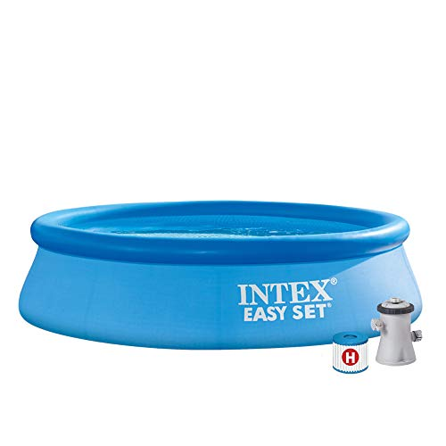 Intex Piscine Easy Set Pools de Support, Bleu
