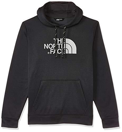 The North Face Surgent Halfdome, Felpa con Cappuccio Uomo, Grigio (TNF Dark Grey Heather/High Rise Grey), M