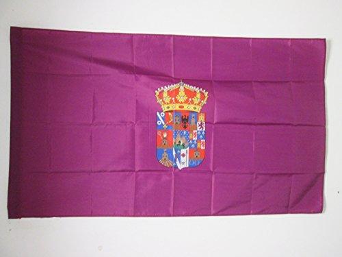 AZ FLAG Bandera de la Provincia DE Guadalajara 150x90cm para Palo - Bandera Guadalajara ENCastilla-LA Mancha 90 x 150 cm