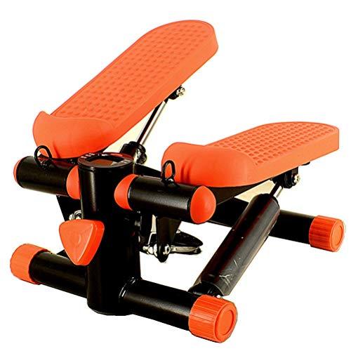 RongWang Multifuncional Paso a Paso de la Aptitud for el Pedal de Cinta de Correr en Silencio, la máquina derrota en casa Mini Peso (Color : A)