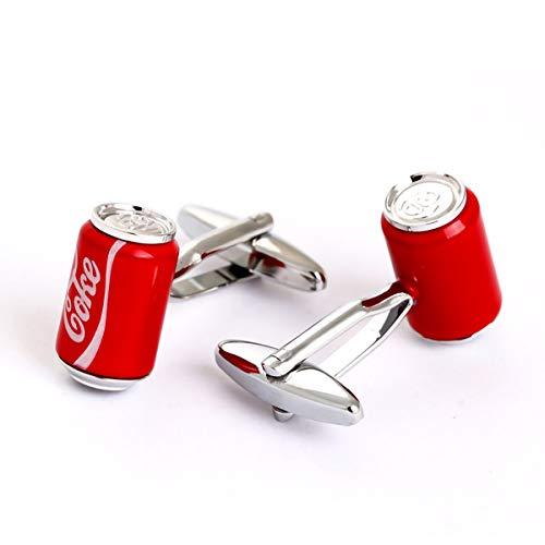 Cufflez Cufflinks – Manschettenknöpfe, das MUSS zu jedem Outfit – Coke Dose