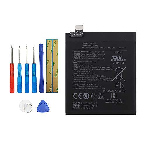 Vvsialeek BLP743 - Batteria di ricambio compatibile per Oneplus 7T 1+7T con kit di attrezzi gratuito