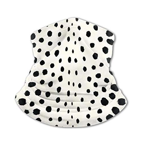Fedso Chic Cagoule avec motif imprimé guépard Noir/blanc