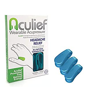✅ AWARD WINNING, DOCTOR APPROVED, NATURAL HEADACHE AND TENSION RELIEF. Aculief provides pressure to the LI4 acupressure point. The LI4 acupressure point is one of the most powerful points on your body and has been used for thousands of years to provi...