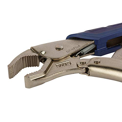 IRWIN VISE-GRIP Locking Pliers, Fast Release, Curved Jaw, 10-Inch (11T)