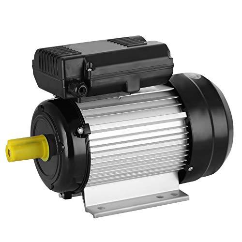 Olibelle Moteur Électrique Monophasé 2.2KW 3HP à Condensateur Moteur 220V Monophasé Compresseur d'Air de Moteur à Pression Électrique (2.2KW)