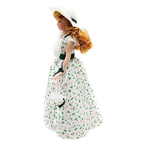 freneci 1:12 Puppenhaus Viktorianische Puppen Kinder Spielen Spielzeug für 1:12 Puppenhaus