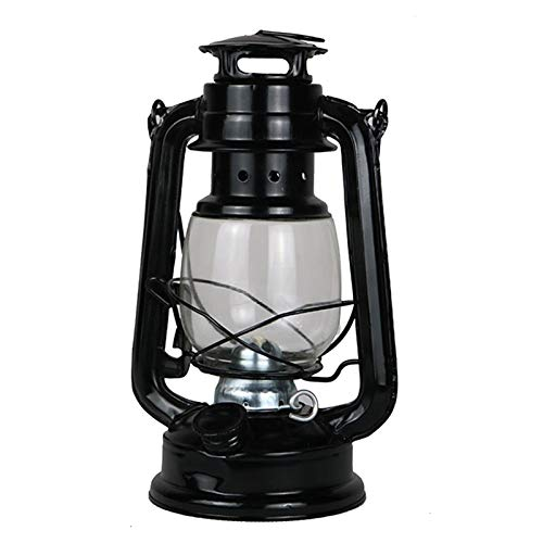 QPY Lampe à pétrole Vintage Lampe à Huile de Camping Lanterne à pétrole Vintage Classique, Lampe à Huile, Portable, extérieur, Camping, 11,5 × 24,5 cm
