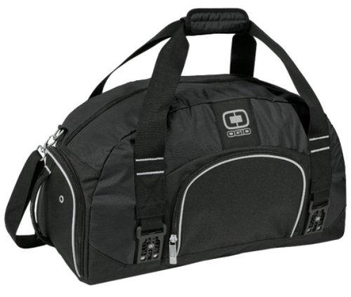 OGIO Big Dome Duffle Bag (Black)