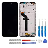 swark LCD Display Compatible with Xiaomi Mi A2 lite/Redmi 6pro Redmi 6 pro LCD Touch Screen Display with Frame + Tools (Black)