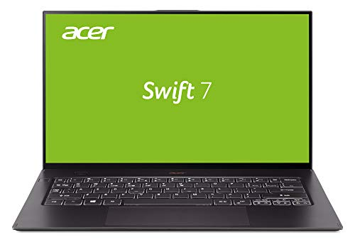 Acer Swift 7 SF714-52T-75UX Noir Ordinateur Portable 35,6 cm (14') 1920 x 1080 Pixels 1,5 GHz Intel® Core i7 de 8e génération i7-8500Y Swift 7 SF714-52T-75UX, Intel® Core i7 de 8e gé