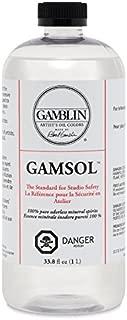 Artists' Grade Gamsol Oil Color Size: 1 Liter, 33.8 Fl. Oz.
