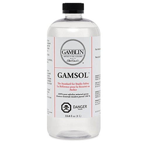 Gamblin O53702 Artists' Grade Gamsol Oil, Clear