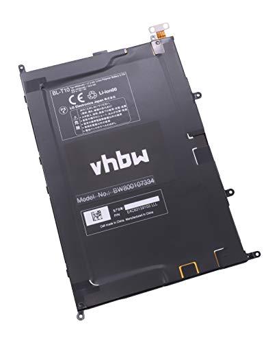 vhbw Li-Polymer Batterie 4600mAh (3.8V) pour Ordinateur, pc LG G Pad 8.3, V500 comme BL-T10, EAC62159101.