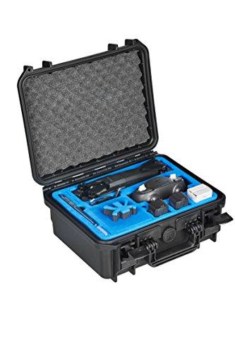 MC-CASES® transportkoffer voor de nieuwe Parrot Anafi met ruimte voor skycontroller 3 en veel accu's en accessoires